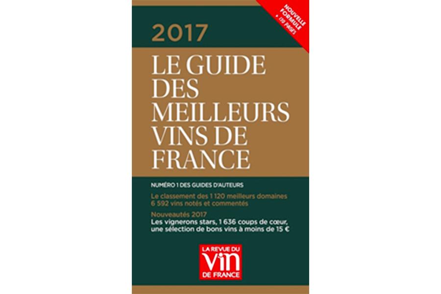 Domaine Patrice Colin étoilé dans le Guide des meilleurs vins de France 2017 !