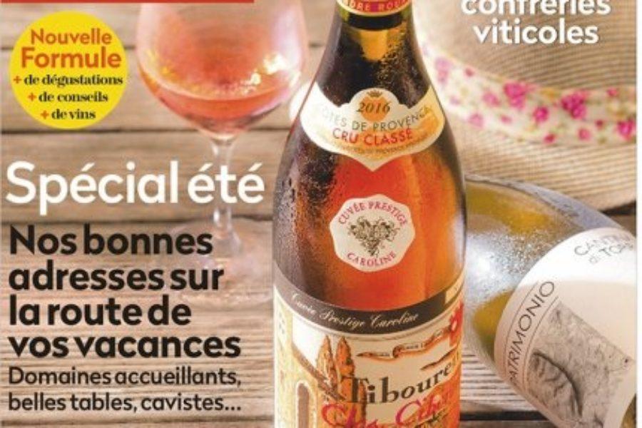 Le Gris Bodin 2018 dans la Revue des Vins de France de juillet