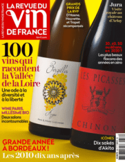 Revue vin de france Emilien Colin ya est selectionné