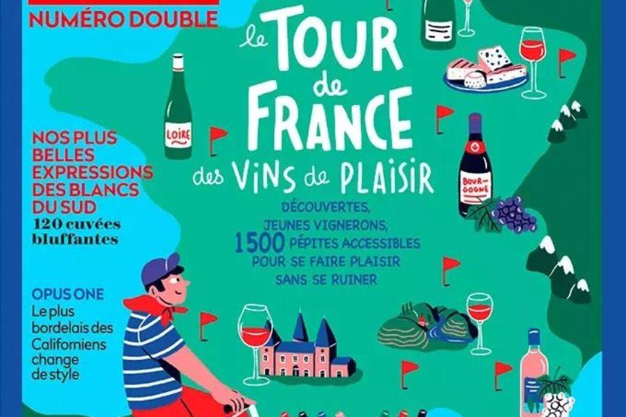 Pierre à Feu et Pierre-François parmi les meilleurs vins de plaisir de France.