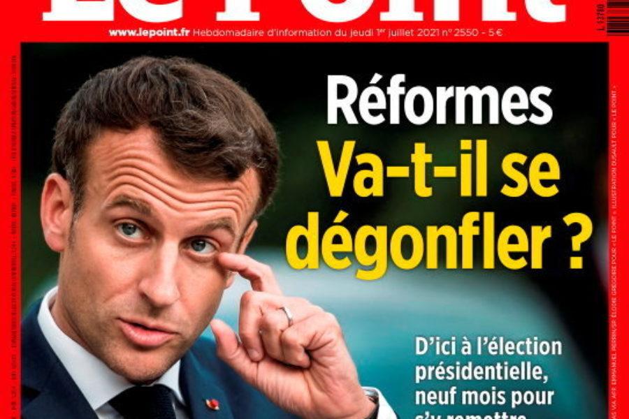 Le Domaine Colin sélectionné dans le magazine Le Point.